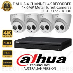 Dahua 4 Channel Kit