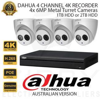 Dahua 4 Channel Kit