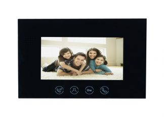 Platinum Intercom Black Monitor
